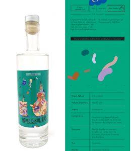 Distillerie des Bughes - Gin Altitude