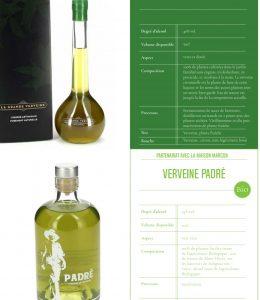 Distillerie des Bughes - La verveine du Padré
