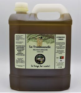 Huile d'olive traditionnelle extra-vierge Récolte de Décembre 5 Litres