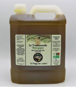 """Huile d'olive extra-vierge """"La Traditionnelle"""" BIOLOGIQUE- 5 L – Récolte de Novembre"""