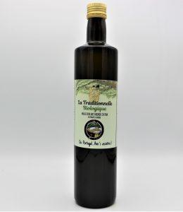 Huile d'olive extra-vierge Biologique Récolte de Novembre
