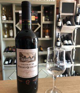Bordeaux Château de Paillet Quancard - Cadillac 75 cl