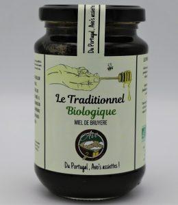 Miel de Bruyère « Le Traditionnel » BIOLOGIQUE- 500 g –