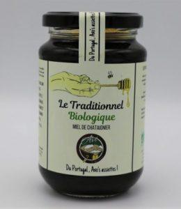 Miel de châtaignier « Le Traditionnel » BIOLOGIQUE-500 g –