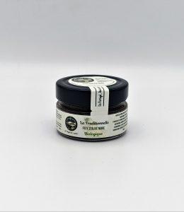 Pâte d'olive noire «La Traditionnelle» BIOLOGIQUE- 100 grammes.