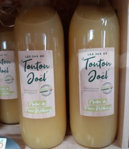 Jus de Poire William