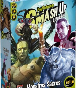 Smash up Extension : Monstres sacrés