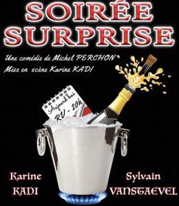 Karine Kadi et Sylvain Vanstaevel dans «Soirée surprise»